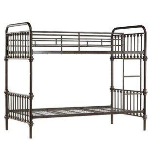 Bargain Tekoa Twin over Twin Bunk Bed ByMistana
