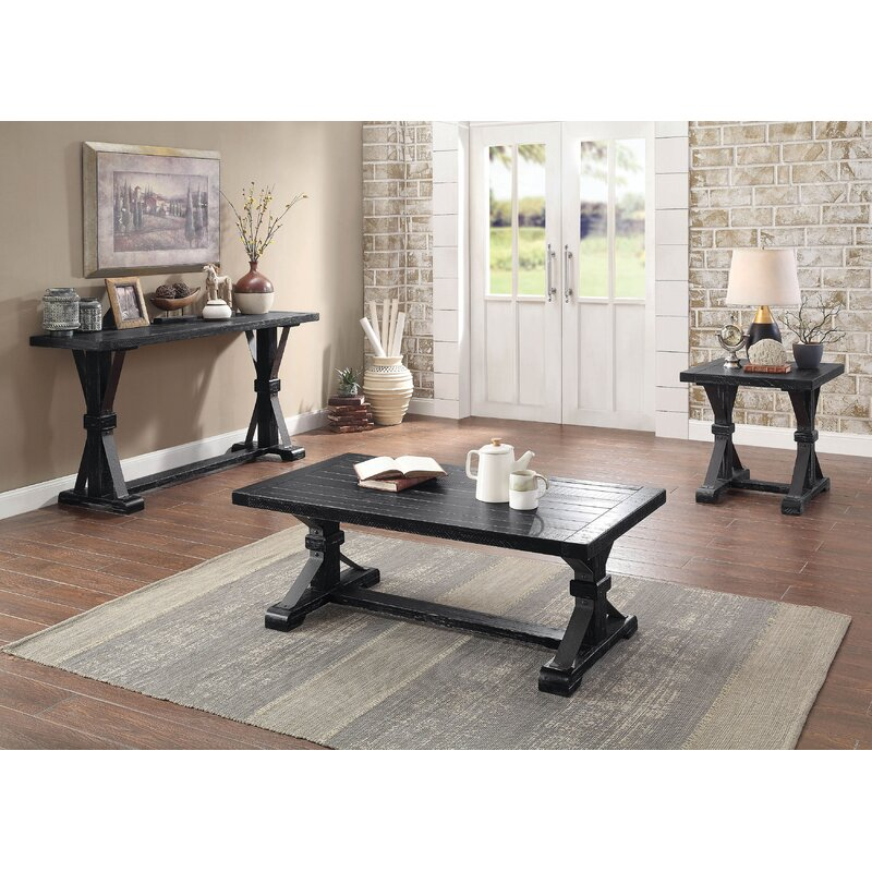 Rosalind Wheeler Marceline 3 Piece Coffee Table Set Reviews Wayfair