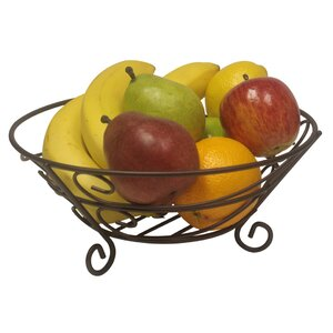 Bronze Fruit Basket