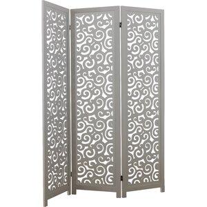 170cm x 138cm 3 Panel Room Divider