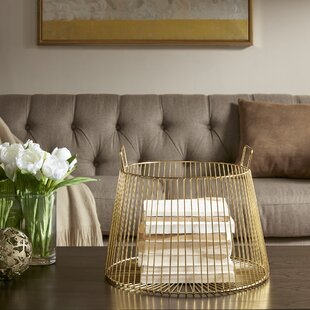 Coupon Whilshire Metal Basket By Madison Park Signature