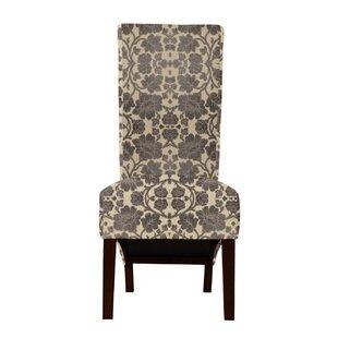 Langley Street Ramon Pandora Flower Parsons Chair (Set of 2)