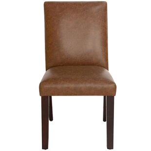 Harrison Leather Upholstered Dining Chair Skyline Furniture