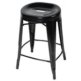 Godbolt 24'' Bar Stool by Brayden Studio®
