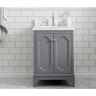 Kylan 24 Single Bathroom Vanity Set with Mirror ByAlcott Hill