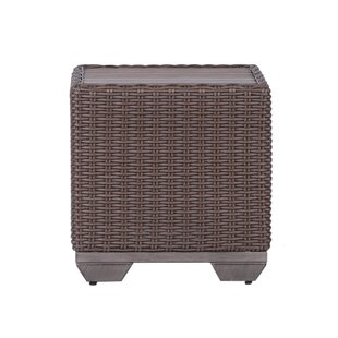 Kovacs Square Wicker Side Table