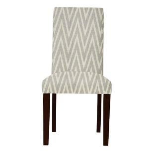 Latitude Run Beachwood Zigzag Parsons Chair (Set of 2)