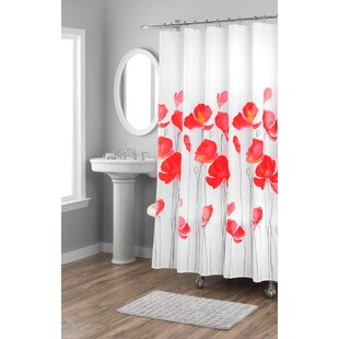 Petunia Cotton Single Shower Curtain