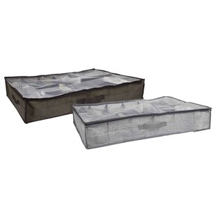 12 Pair Fabric Underbed Storage