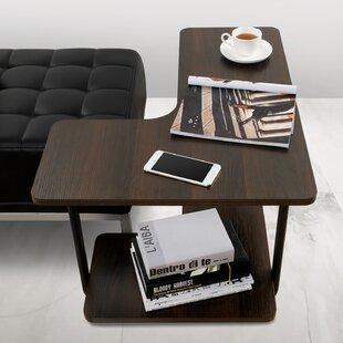 Marius 2-Tier Couch L-Shape End Table
