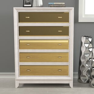 Willa Arlo Interiors Guerrero 5 Drawer Ch..
