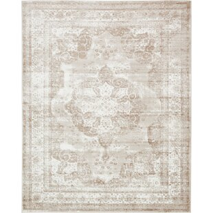 Savings Brandt Beige Area Rug By Mistana
