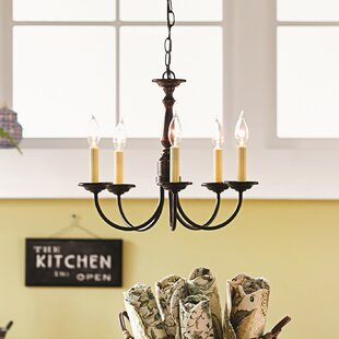 Francesville 5-Light Chandelier