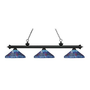 Earleville 3 Light Pool Table Lights by August Grove