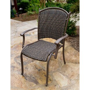 Christmas Stacking Patio Dining Chair