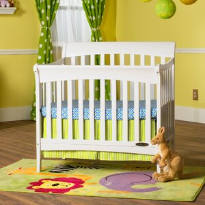 Ashton 4-in-1 Convertible Mini Crib with Mattress