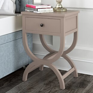 Laverriere End Table with Storage by One Allium Way
