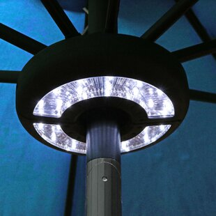 Merveilleux Brionna Patio Umbrella LED Lighting
