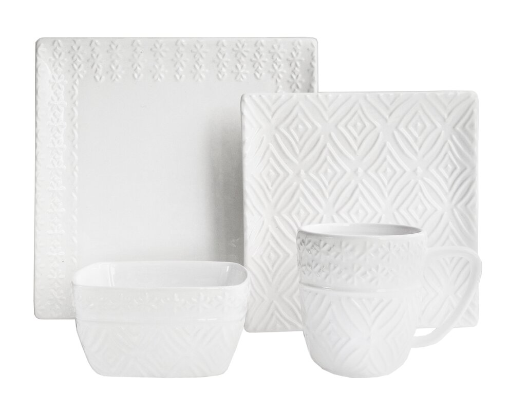 Dinnerware Sets & Place Settings Made of Stoneware