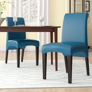 Bagshaw Upholstered Dining Chair (Set of 2) Winston Porter
