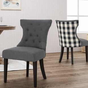 Orourke Two Toned Upholstered Dining Chair (Set of 2)