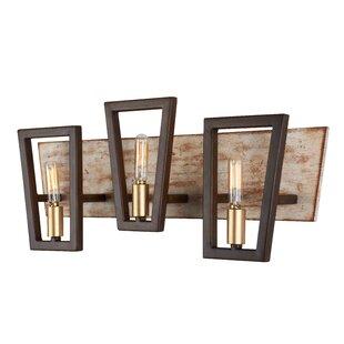 Jayde 3-Light Vanity Light by Wrought Studio