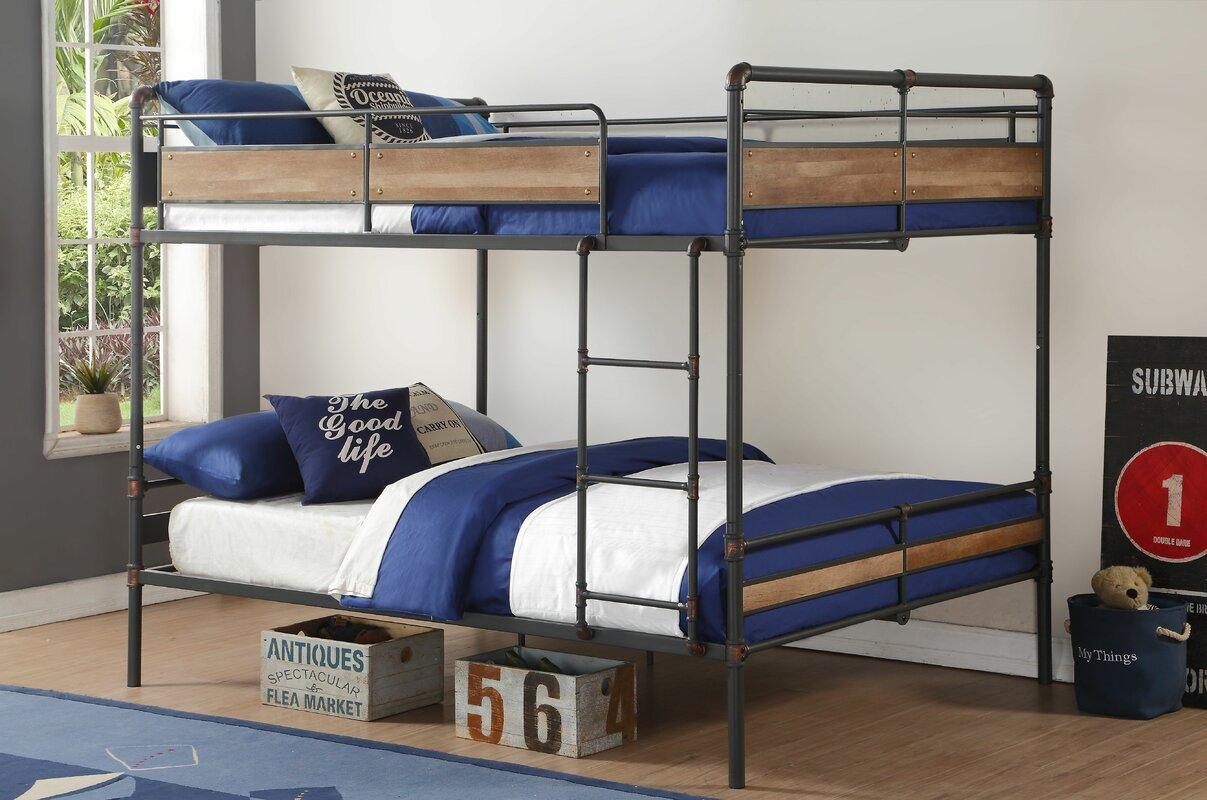 acme furniture brantley ii queen over queen bunk bed  reviews  - defaultname