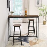 Cleere 3 - Piece Counter Height Dining Set by Williston Forge