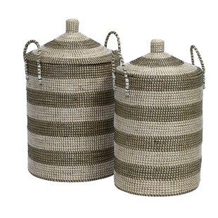 Stars Laundry Basket Set By Nordal