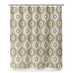 Underhill Ikat Shower Curtain