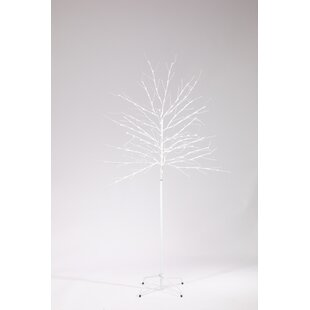 150 Cool White Twinkling Twig Lighted Tree & Branches Image