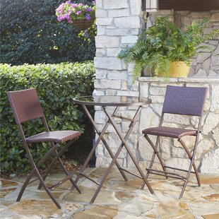 Lybarger 3 Piece Bistro Set by Charlton Home
