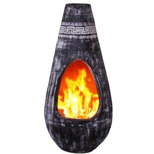 Gota Clay Wood Burning Chiminea Image