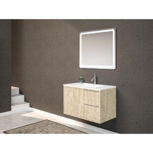 Leonidas 800mm Wall Mount Single Vanity Unit By Belfry Bathroom