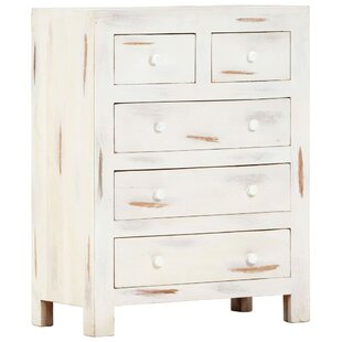 Bowlan 5 Drawer Chest By World Menagerie