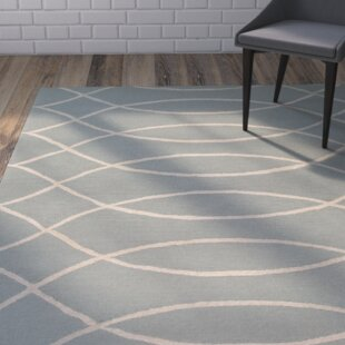 Mcglynn Hand-Hooked Beige/Light Gray Indoor/Outdoor Area Rug