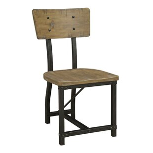 Leesa Metal Frame Dining Chair (Set Of 2) by Williston Forge Comparison