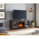 Casanovia TV Stand for TVs up to 60 with Electric Fireplace Included by 17 Stories