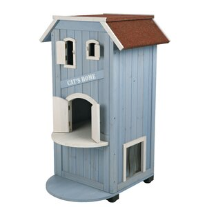 Lucey 3 Story Cat House
