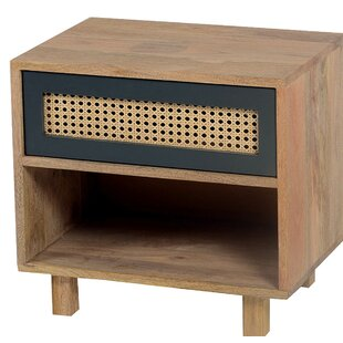 Rexdale 1 Drawer Nightstand