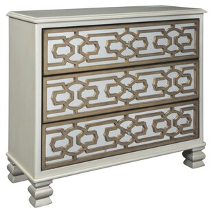 Mercer41 Reposa 3 Drawer Accent Cabinet