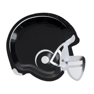 Helmet Appetizer Plate (Set of 8)