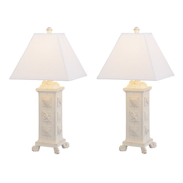 White Shell on Silver Plated Base Royal Designs Natural Seashell Lamp Finial