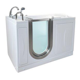Elite 52.25 x 29.75 Walk-In Bathtub ByElla Walk In Baths