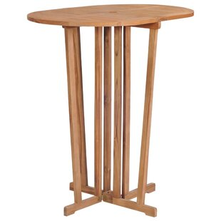 Asay Teak Bar Table By Sol 72 Outdoor