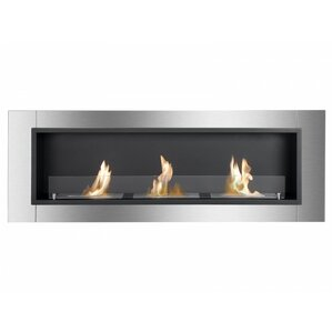 Ardella Wall Mount Bio-Ethanol Fireplace by Ignis Products
