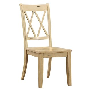 MoretinMarsh Solid Wood Dining Chair (Set of 2)