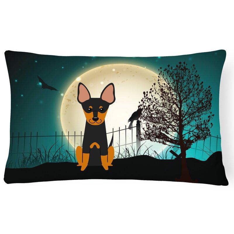 The Holiday Aisle Eila Indoor Outdoor Lumbar Pillow Wayfair