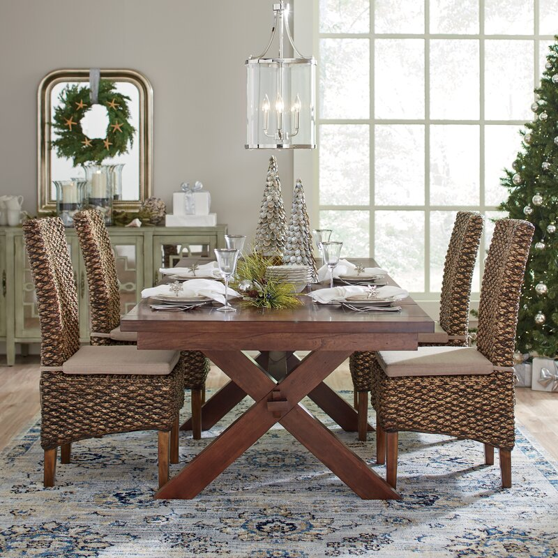 Charmant Woven Seagrass Side Chair