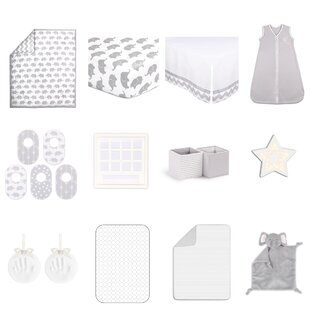Top Reviews Ellie Essentials 18 Piece Crib Bedding Set ByThe Peanut Shell